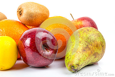 Healthy fruits selection