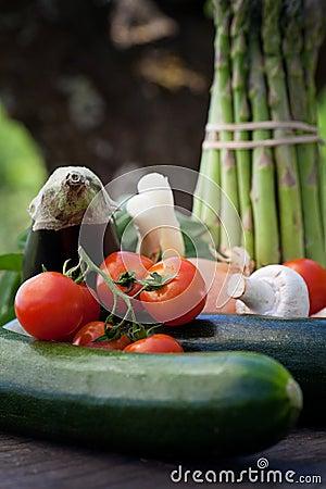 Free Fresh Garden Produce Royalty Free Stock Photography - 25111537