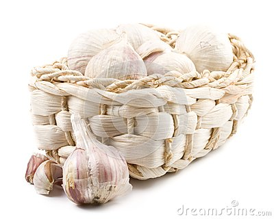 Fresh Garlic Royalty Free Stock Image - Image: 6111856