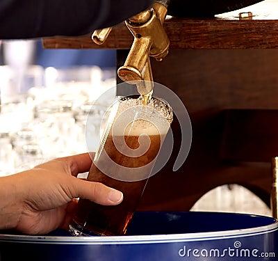 Free Fresh German Draft Beer Royalty Free Stock Photos - 10734168