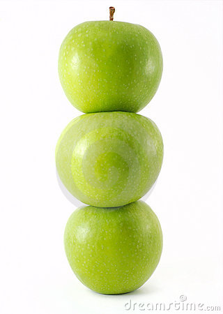 Free Fresh Green Apples Royalty Free Stock Photos - 7363608