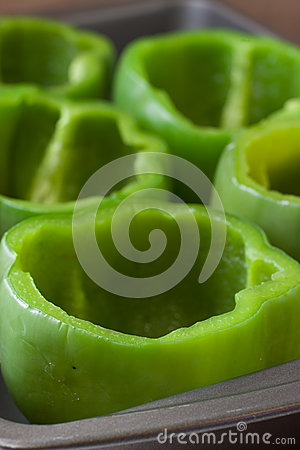 Free Fresh Green Bell Peppers Stock Photos - 46814093