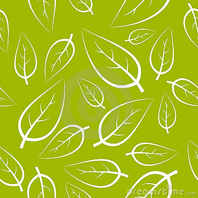 Fresh green leafs texture