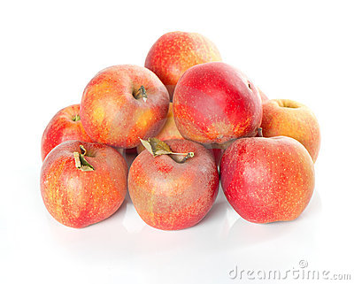 Fresh healthy organic apples