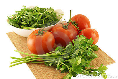 Fresh and healthy raw food ingredients