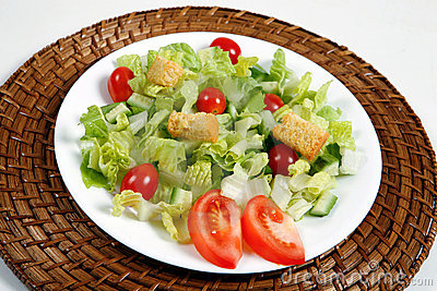 Fresh and healthy salad