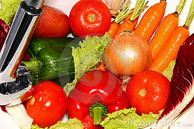 Fresh, healthy vegetables