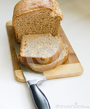 Fresh home made bread.