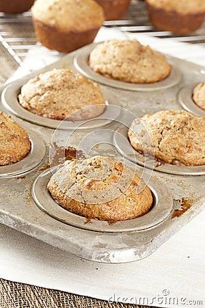 Free Fresh Homemade Bran Muffins Stock Image - 27081441