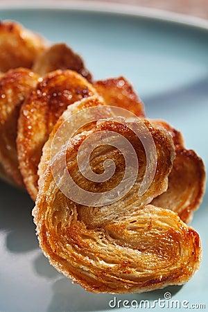 Fresh homemade pastry