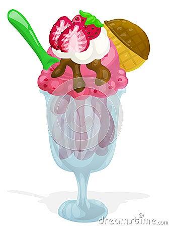 Fresh icecream