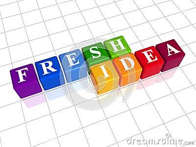 Fresh idea in colour