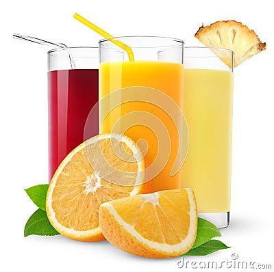 Free Fresh Juices Stock Photo - 18764010