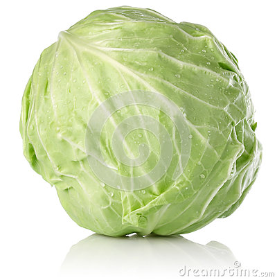 Fresh juicy cabbage