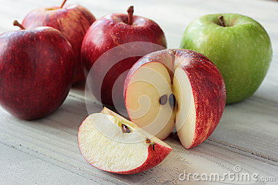 Fresh, juicy, crunchy apples