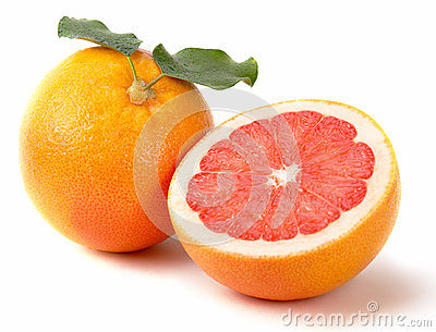 Fresh juicy grapefruits
