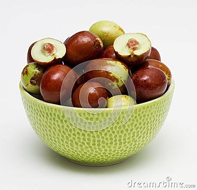 Free Fresh Jujube Fruit Royalty Free Stock Photography - 16317847