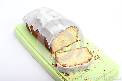 Fresh lemon cake