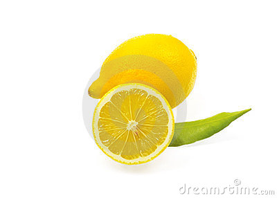 Fresh lemon citrus