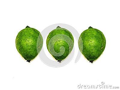 Fresh lemons limes