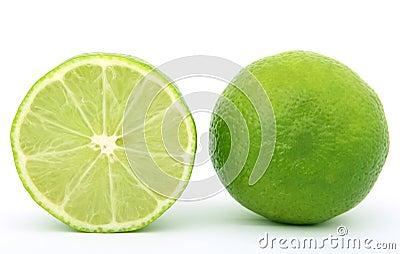 Fresh lime fruit