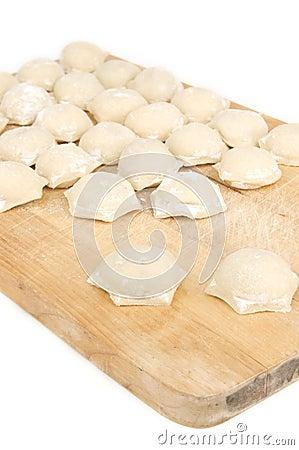 Fresh meat dumplings