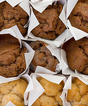 Fresh mini muffin cakes