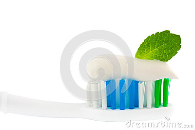 Fresh Minty Toothbrush