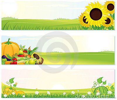 Fresh Nature Banners