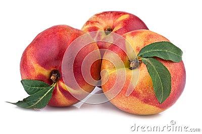 Fresh nectarine or peach