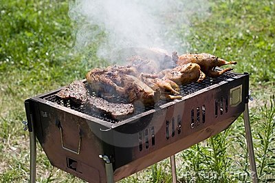 Fresh nice barbecue.