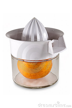 Fresh Orange Inside Juicer