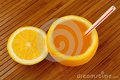 Fresh Orange Juice Royalty Free Stock Photo - Image: 19237105