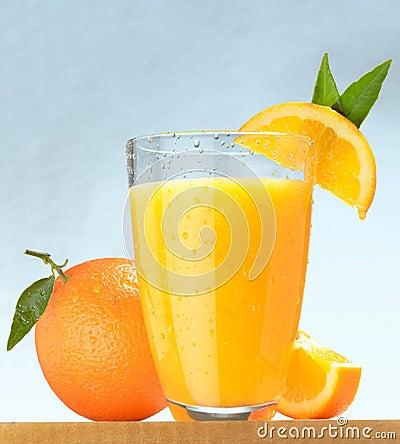 Free Fresh Orange Juice Stock Photo - 22949940