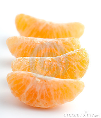 Fresh Orange Segments