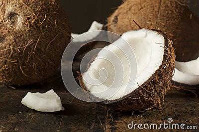 Fresh Organic Brown Coconut