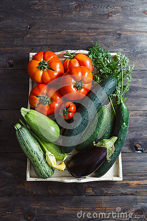 Free Fresh Organic Homegrown Vegetables Royalty Free Stock Photography - 75086987