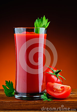 Free Fresh Organic Tomato Juice Stock Photos - 32798453