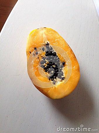 Free Fresh Papaya Royalty Free Stock Image - 52680166