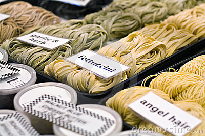Fresh Pasta Stock Photo - Image: 2702310