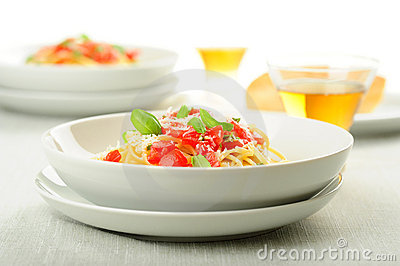 Fresh Pasta with Tomatoes