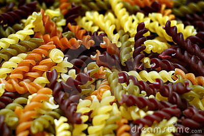 Fresh Pasta Twirls Multicolor
