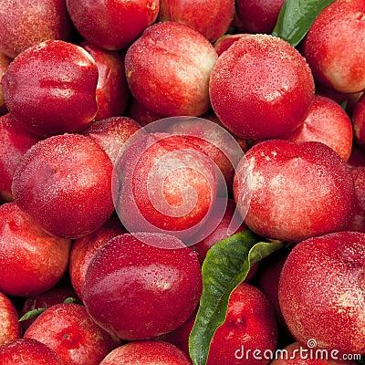 Free Fresh Peaches Royalty Free Stock Photos - 24857078