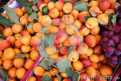 Fresh peaches