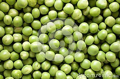 Fresh peas background