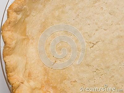 Fresh pie shell