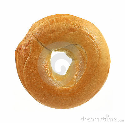 Free Fresh Plain Bagel Stock Photos - 12130993
