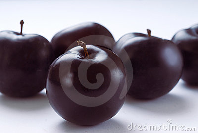 Fresh Plums Royalty Free Stock Image - Image: 16442776