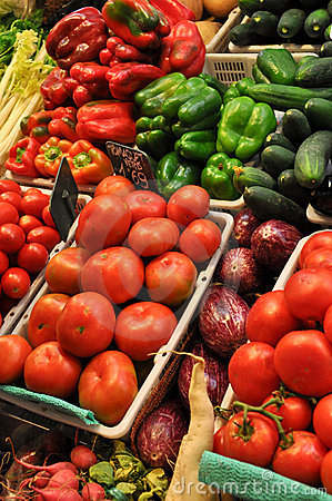 Free Fresh Produce For Sale At Market Stock Photography - 16820582