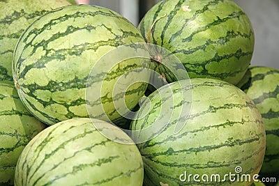Fresh raw watermelon